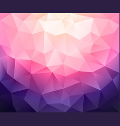 abstract triangular mosaic in low poly style vector image
