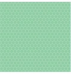 Banner consisting green honeycomb tiles vector