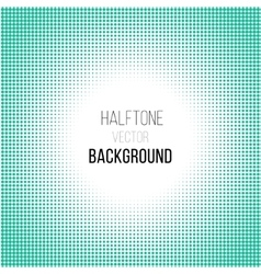 Cyan halftone background vector
