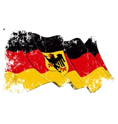 Germany State Flag Grunge vector