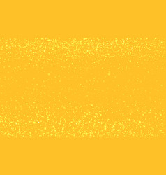 golden christmas background abstract yellow color vector image