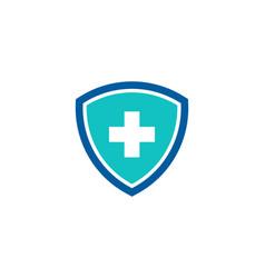 Guard medicine logo icon design vector