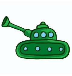Military tank design cartoon kids vector
