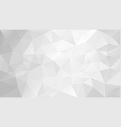 Polygonal background grayscale whtie gray vector