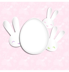 Springtime Easter Holiday Background vector image