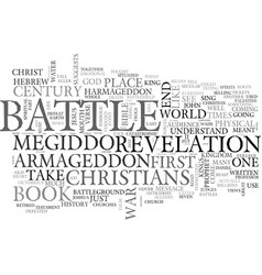 Where s armageddon text word cloud concept vector