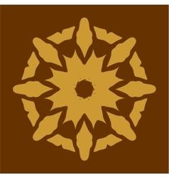 Ornament in color 36 vector image