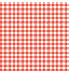 Red checkered tablecloths patterns vector image vector image