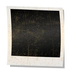 empty polaroid photograph vector image