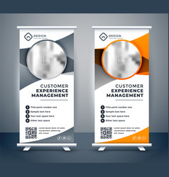 Business rollup banners for marketing vector