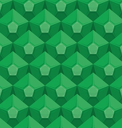 Emerald seamless texture Gem background Green vector image