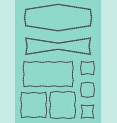geometry frame vector image