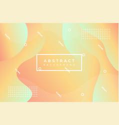 Pastel colors design geometric fluid graphic vector