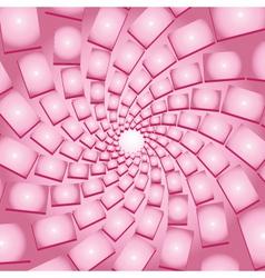 Pink vortex vector