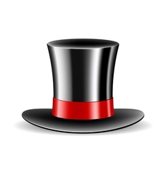 Cylinder magic hat vector image vector image
