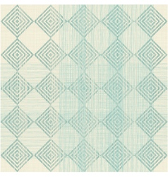 Diamond and square background vector image vector image