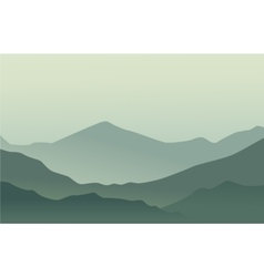 Mountains background vector image