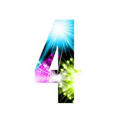 Sparkler firework figure isolated on white vector