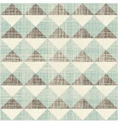 Triangular pattern vector image vector image