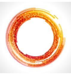 Abstract Digital Ring vector
