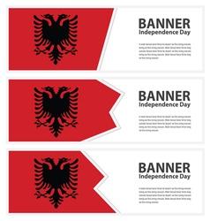 Albania banner vector