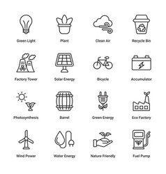 ecology and environmentalism vector image