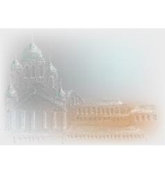helsinki abstract city vector image
