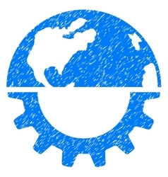 International Industry Grainy Texture Icon vector