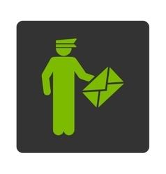 Postman icon vector