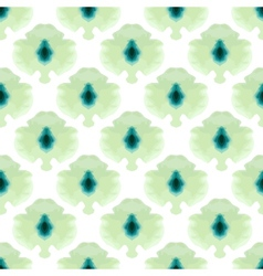 seamless water color mosaic pattern vector image