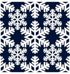 Decorative abstract snowflake Seamless vector image