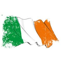 Ireland Flag Grunge vector image vector image