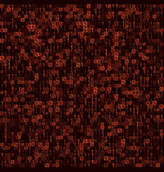 Abstract technology red seamless background vector