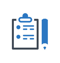 Check list icon vector