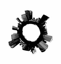 City around the world vector