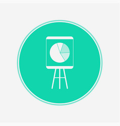 diagram board icon sign symbol vector image