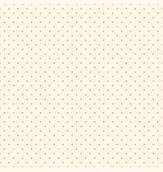 polka dot seamless delicate pattern dotted vector image