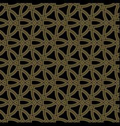 seamless pattern in arabian style vector image
