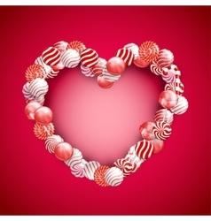 Valentine Day Lollipop vector image