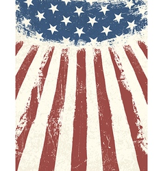 American flag abstract background vector