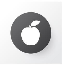 fruit icon symbol premium quality isolated apple vector image