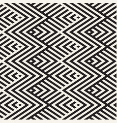 abstract zigzag parallel stripes seamless vector image vector image