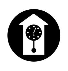 antique watch isolated icon vector image