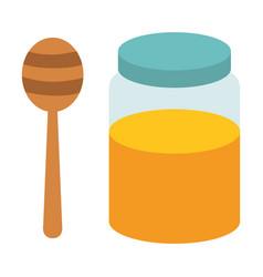 sweet honey isolated icon vector image