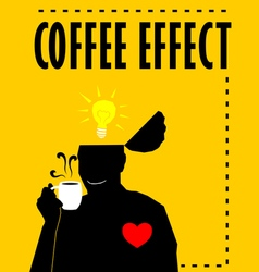 Coffee Effect vector