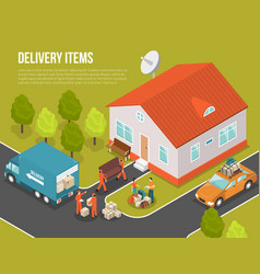 Delivery moving new settler vector