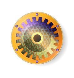 design best sacred mechanical geometry souvenir vector image