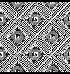 greek abstract geometric seamless pattern vector image