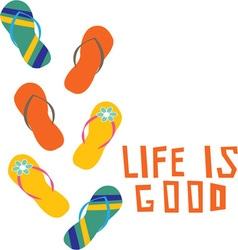 Life Is Good vector