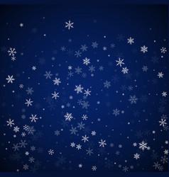 Sparse snowfall christmas background subtle flyin vector